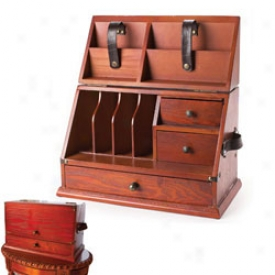 Turn Of Century Desk Organizer