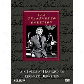 Unanswered Question Six Talks At Harvard At L Bernstein Dvd