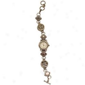 Victorian Button Watch