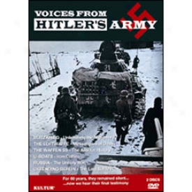 Voices From Hitlerz Army Dvd