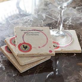 Wine Quotes Coasters
