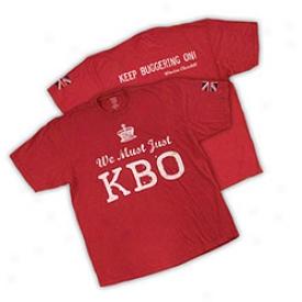 Winston Churchill We Must Honest Kbo T-shirt Small-red