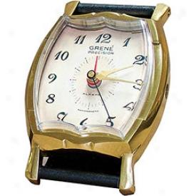Wristwatch Alarm Clock 0-black