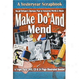 Wwii Home Front Scrapbook Sets Make Do And Mend Dvd