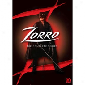 Zorro The Complete Series Dvd