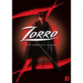 Zorro The Complete Series Dvd