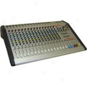 16-channel, 4-bus Powered Console Mixer