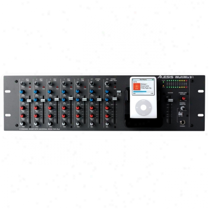 Alesis Imultimix-9r Audio Mixer