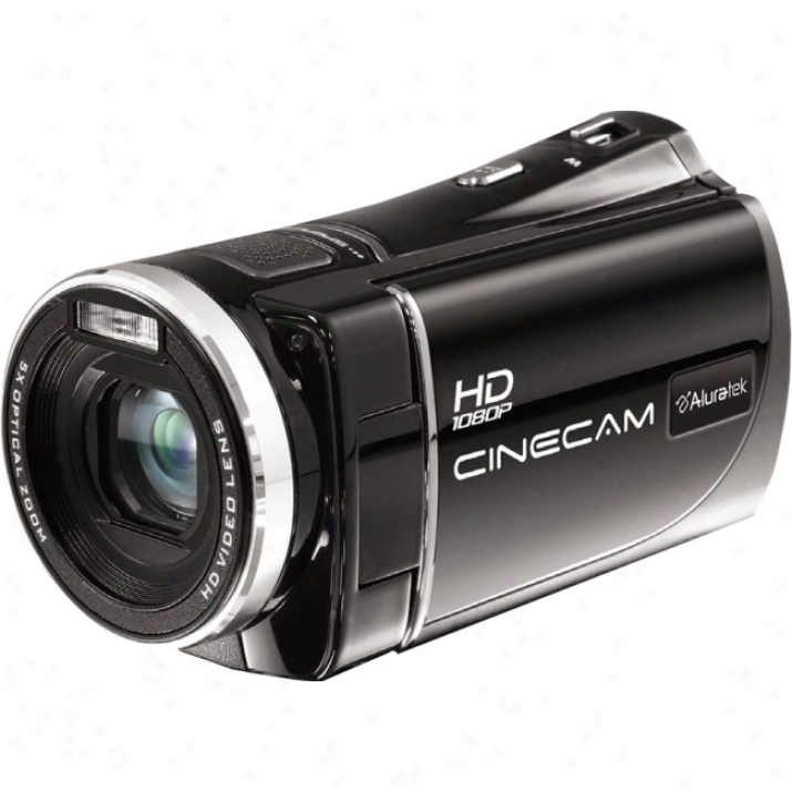 "Aluratek Cinecam Ahdvc03f Digital Camcorder - 3"" Lcd - Touchscreen - Cmos"