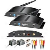 Araneus Wirelees 8-chaannel Indoor Audio/video System