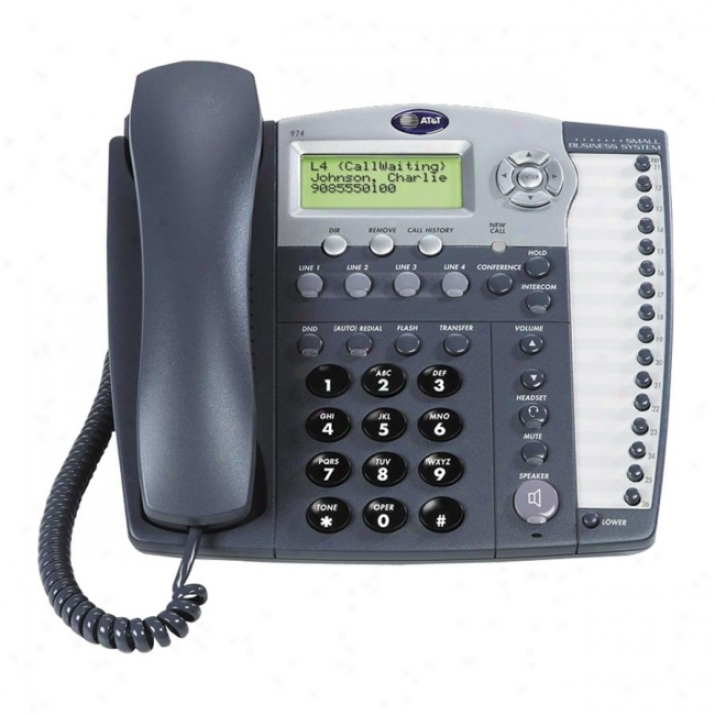 At&t 984 Corded Phone