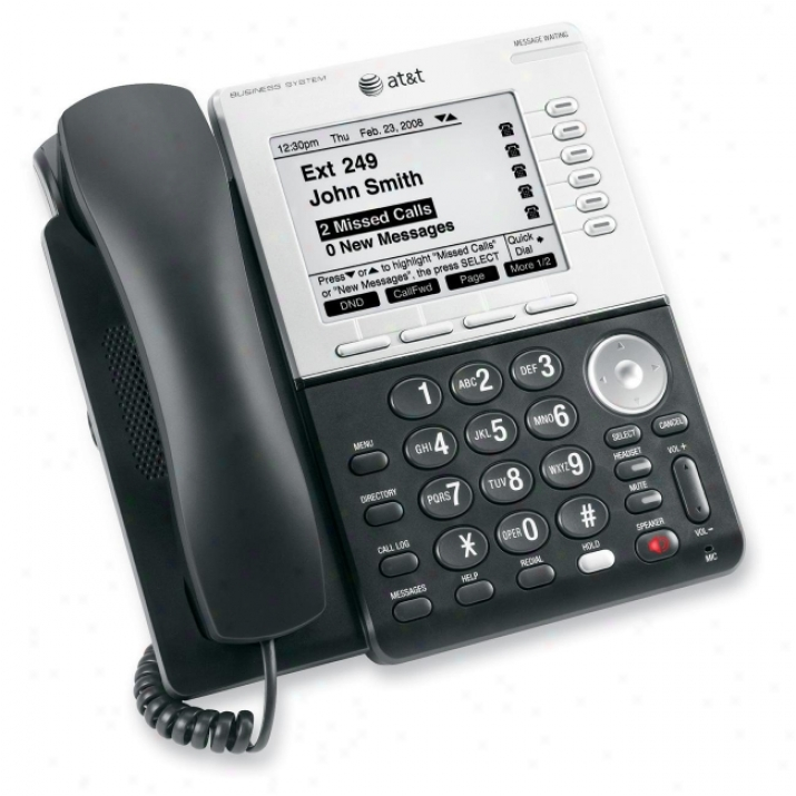 At&t Sb67030 Corded Desk Phone