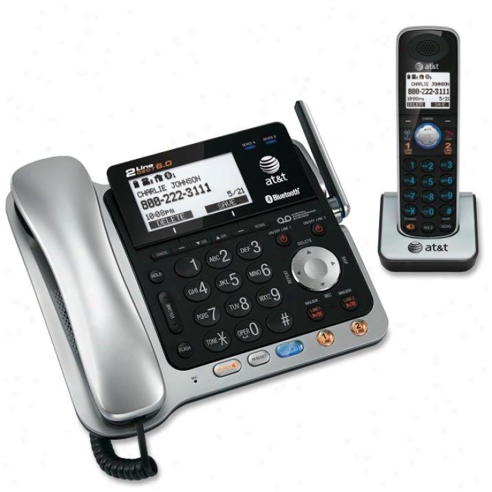 At &t Tl86109 Cordless Phone