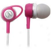 Audio-technica Ath-ck52w Stereo Earphone