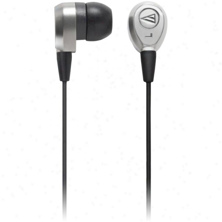 Audio-technica Ath-c7kasv Earphone - Stereo