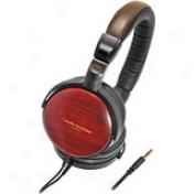 Audio-technica Ath-esw9a Portable Wooden Headpgone