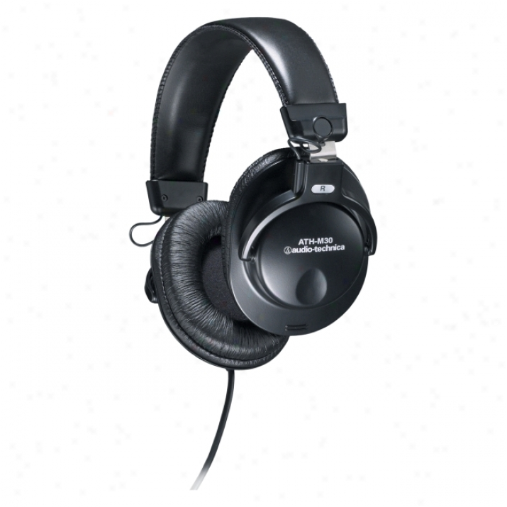 Audio-technica Ath-m30 Stereo Monitor Headphone