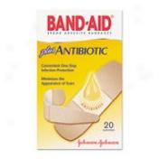 Band-aid Antibiotic Bandage - Beige