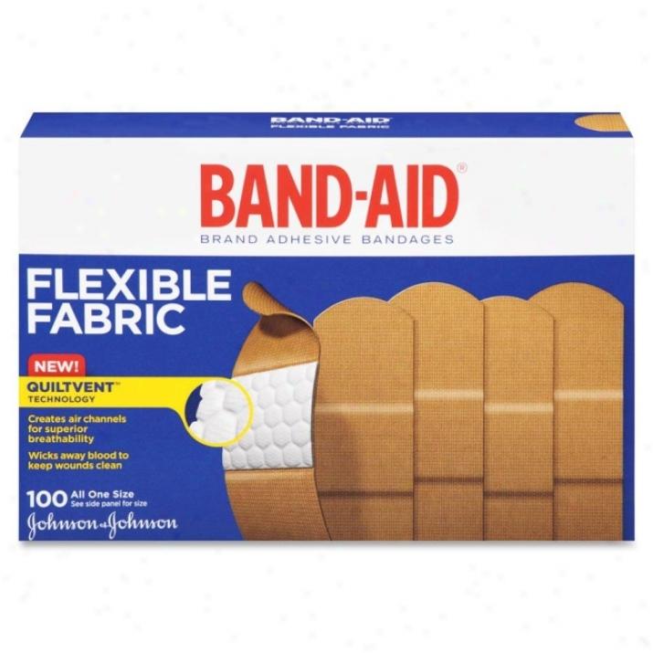 Band-aid Flexible Fabric Adhesive Bandage