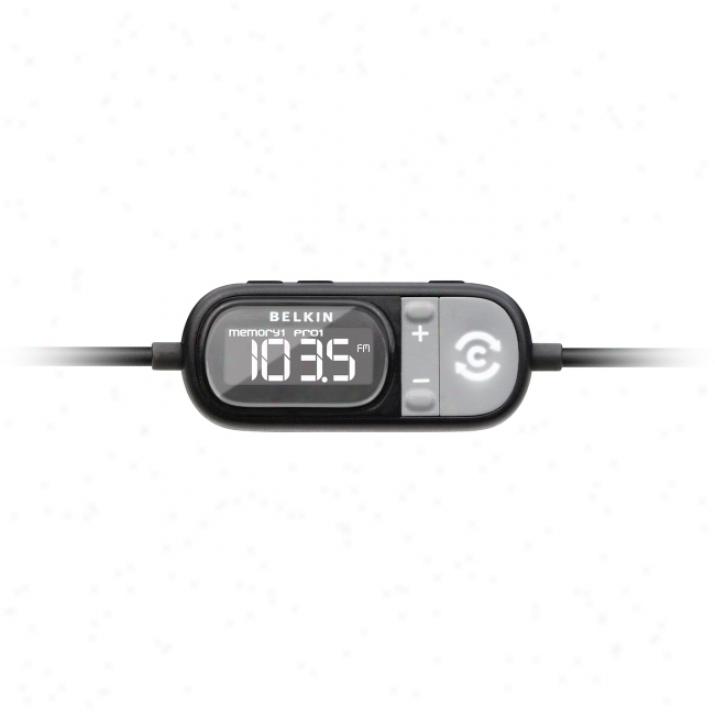 Belkin Tunecasf Auto Fm Transmitter