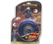 Blue/silver Amplifier Installation Kit - 1000-watt, 8-gauge
