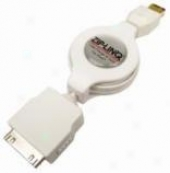 Cables Unlimited Ziplinq Retractable Ipod Firewire Charge And Synch Cable