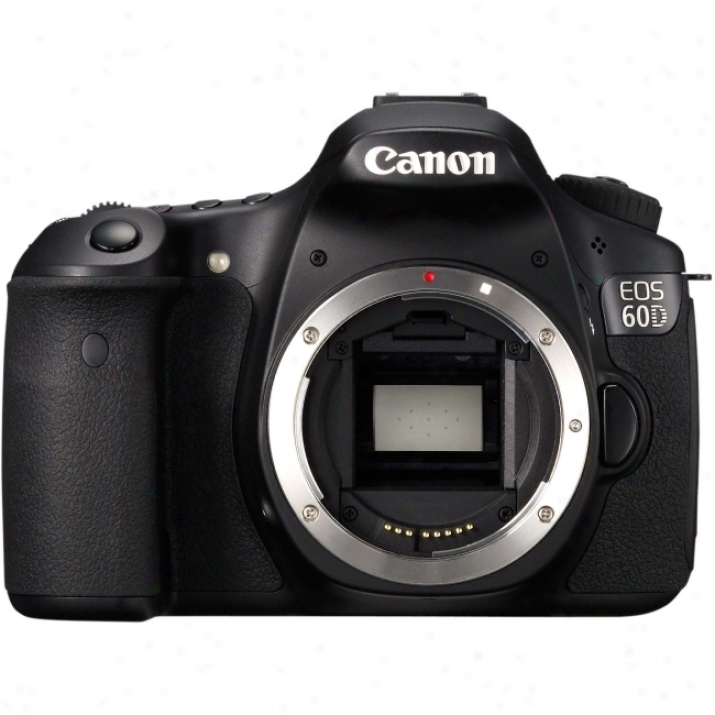 Cwnon Eos 60d 18 Megapixel Digital Slr Camera (body Only) - Black