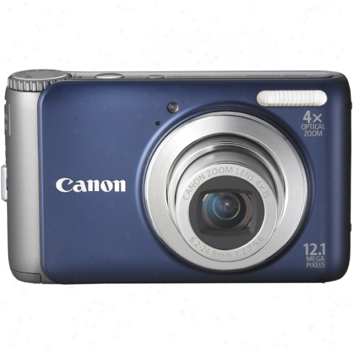 Canon Powershot A3100 Is 12.1 Megapixel Compact Camera - 6.20 Mm-24.80 Mm - Red
