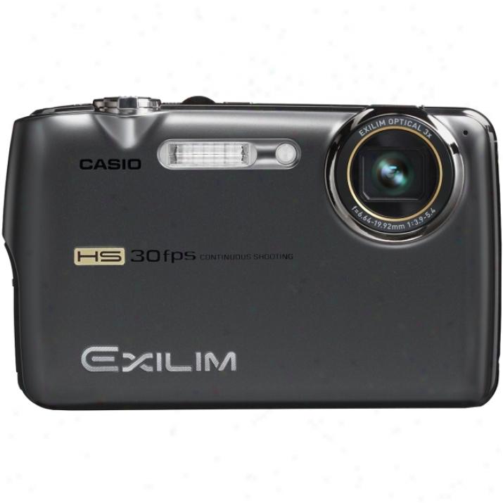 Casio Exilim Ex-fs10 Point & Shoot Digital Camera - Graay