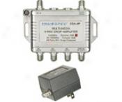 Catv Bi-direction Amplifier - Quad Output - 8db