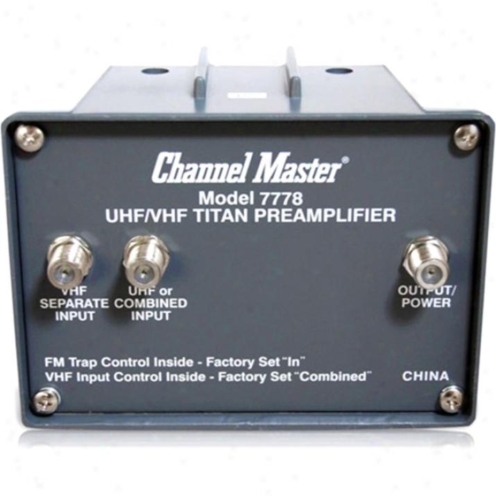 Channel Mazter Cm7778 Token Amplifier