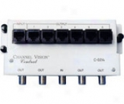 Channel Vision 4-way Rf Splitter