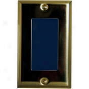 Strait Vision 6200 Single Gang Box Network Camera - Polished Brass