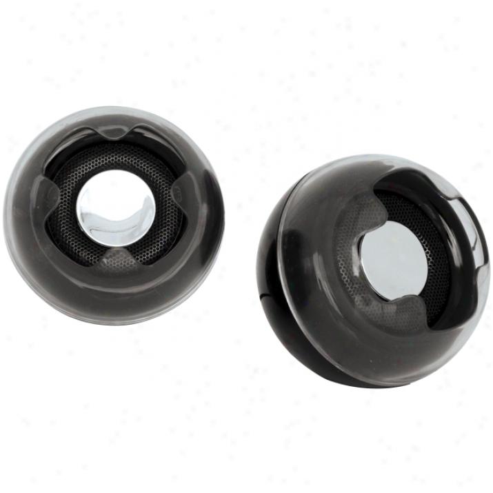 Coby Csmp16 2.0 Speaker System - Black