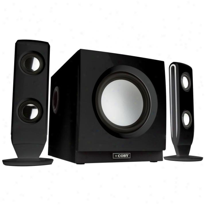 Coby Csmp77 Multimediq Speaker System