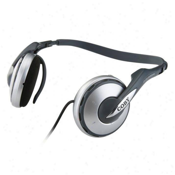 Coby Cv-250 Swingers Stereo Headphone