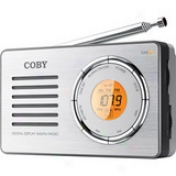 Coby Cx-50 Compact Am/fm Radio