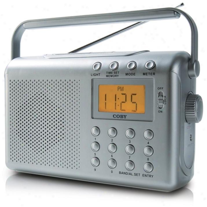Coby Cx-789 Digital Am/fm/noaa Radio