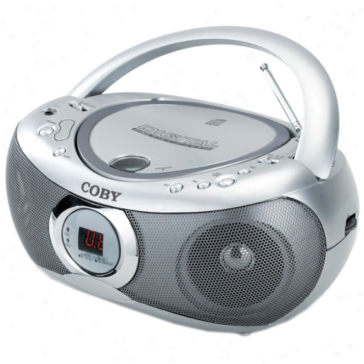 Coby Cx-cd236 Radio / Cd Player Boombox