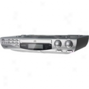 Coby Kcd150 Undercabinet Clock Radio/audio Disc Player