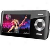 Coby Mp815 8 Gb Black Flash Portable Media Actor