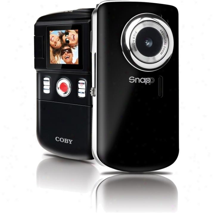 "Coby Snapp Cam3001 Digital Camcorder - 1.4"" Lcd - Cmos"