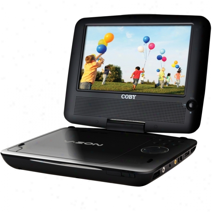 Coby Tfdvd7309 Portable Dvd Player