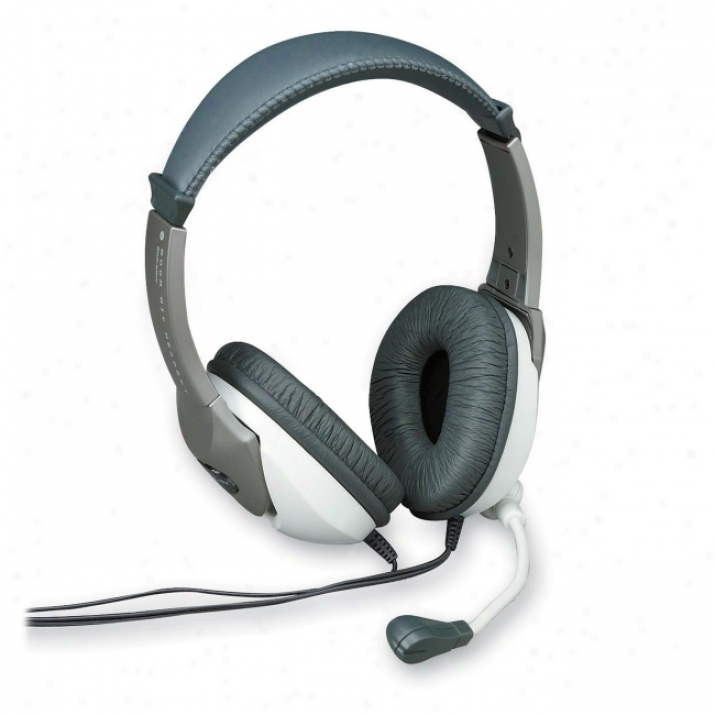 Compucessory Ccs 55221 Deluxe Multimedia Stsreo Headset