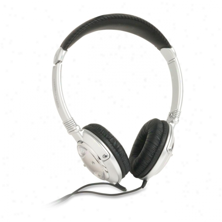 Compucessory Ccs 55228 Deluxe Stereo Audio Headphone