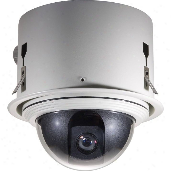 Cp Tech Level One Fcs-4300 Day/jight Ip Dome Camera With Indoor Ceiling Mohnt