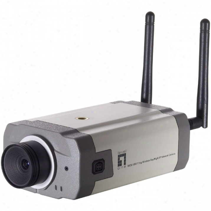 Cp Tech Levelone Wcs-1090 Day/night Network Camera