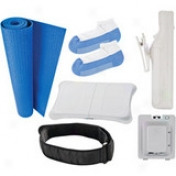 Cta Digital Wii Fit 6-in-1 Starter Kit