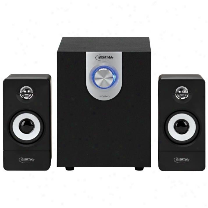Digital Innovations Acoustix 4330500 2.1 Speaker System