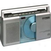 Emerson Pd5098 Radio/cd Player Boombox